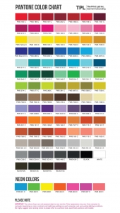 The Print Lab, Inc. - Pantone Color Chart